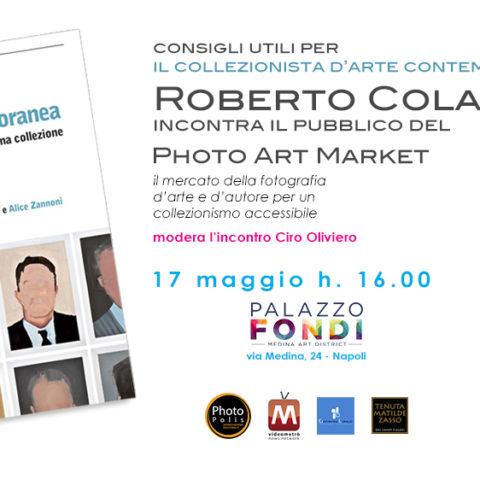 Roberto Colantonio incontro per il PAM - Photo Art Market