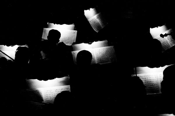 Concert in opera theatre