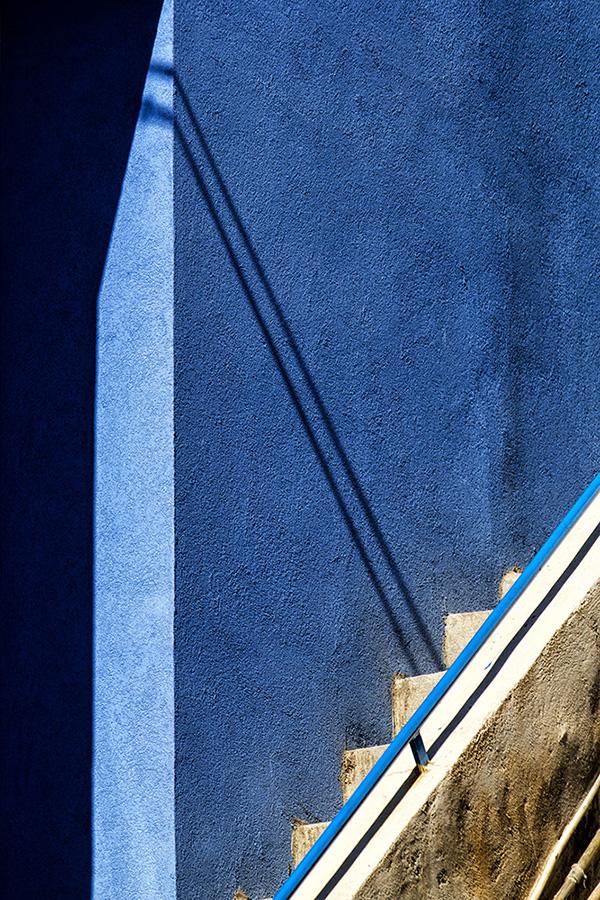 Geometrie in blu